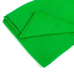 Фон тканевый Mircopro зеленый хромакей 3x3 м