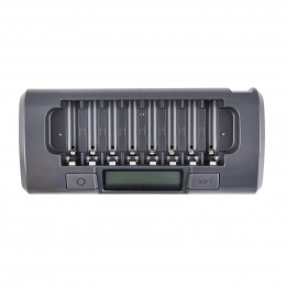 Интеллектуальное зарядное устройство для 8 аккумуляторов AA/AAA Maha Powerex MH-C800S