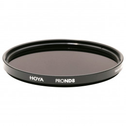 Фильтр нейтрально-серый Hoya Pro ND 8 (3 стопа) 82 мм