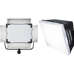 Постоянный LED свет Yongnuo YN6000kit (3200-5500K) c софтбоксом