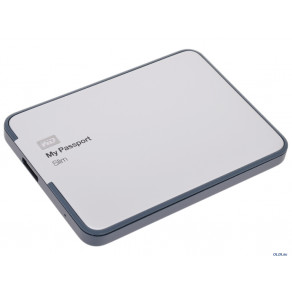 "Жесткий диск WD 1TB My Passport Slim 2.5"" USB 3.0 (WDBGMT0010BAL-EESN)"