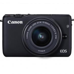 Фотоаппарат Canon EOS M10 Kit 15-45 IS STM Black
