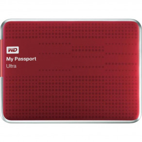 "Жесткий диск WD 500GB My Passport Ultra 2.5"" USB 3.0 Red (WDBPGC5000ARD-EESN)"