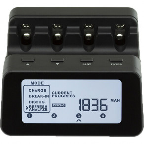 Интеллектуальное зарядное устройство для аккумуляторов AA/AAA Maha Powerex MH-C9000PRO