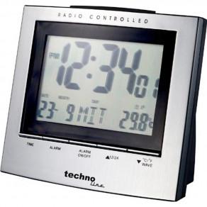 Часы Technoline WT280 aluminium - black