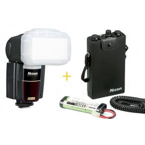 Вспышка Nissin MG8000 Extreme Canon + батарейный блок PS300