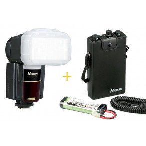 Вспышка Nissin MG8000 Nikon + батарейный блок PS300