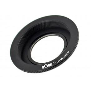 Переходник JJC M42-Nikon с объектива M42 на байонет Nikon F с линзой для бесконечности