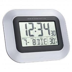 Настенные часы Technoline WS8005 silver - black