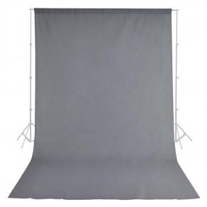Фон тканевый MyGear серый WOB-2002 - 3x6 м