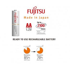 Акумуляторы пальчиковые Fujitsu AA 1900mAh NiMh 4шт