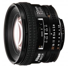 Объектив Nikon AF 20mm f/2.8D