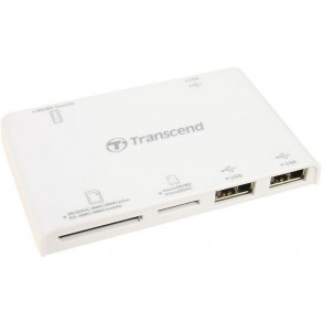 Кардридер Transcend TS-RDP7W All-in-1white (TS-RDP7W)