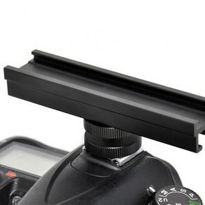 Адаптер рельса на горячий башмак для дополнительных устройств JJC CS-12