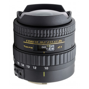 Объектив Tokina AT-X DX 10-17mm f/3.5-4.5 Fisheye (Canon)