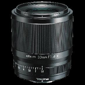 Объектив Tokina atx-m 33mm F1.4 X (Fujifilm X)