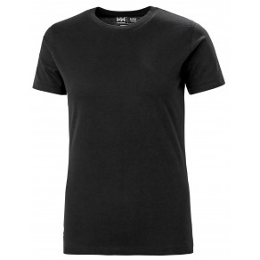 Футболка Helly Hansen W Manchester T-Shirt - 79163 (Black)