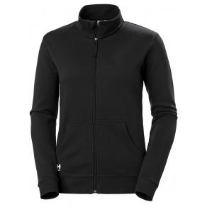 Кофта на молнии Helly Hansen W Manchester Zip Sweater - 79213 (Black)
