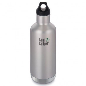 Термофляга Klean Kanteen Classic Vacuum Insulated 946мл Brushed Stainless
