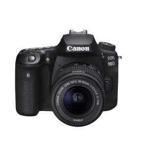 Фотоаппарат Canon EOS 90D Kit 18-55 IS STM