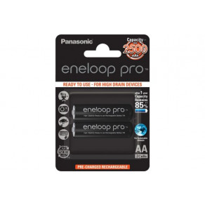 Аккумуляторы с низким саморозрядом Panasonic Eneloop Pro AA 2500 mAh 2шт