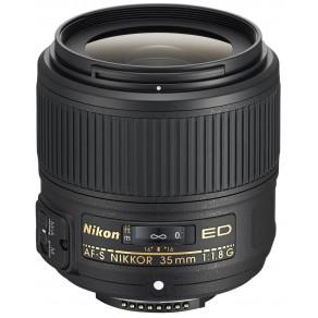 Объектив Nikon AF-S 35mm f/1.8G ED