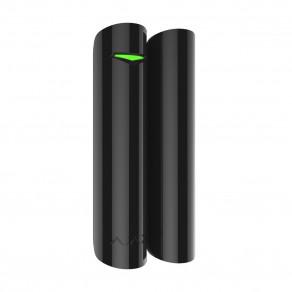 Беспроводной датчик открытия с сенсором удара и наклона Ajax DoorProtect Plus Черный
