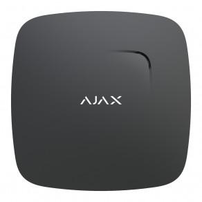 Беспроводной датчик дыма и температуры Ajax FireProtect Черный
