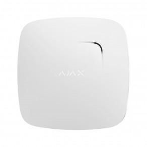 Беспроводной датчик дыма и температуры Ajax FireProtect Белый