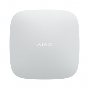 Центр управления Ajax Hub Plus White (GSM+Ethernet+Wi-Fi+3G) Белый
