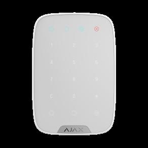Беспроводная сенсорная клавиатура Ajax KeyPad Белая