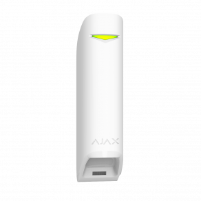 Беспроводной датчик движения штора Ajax MotionProtect Curtain Белый