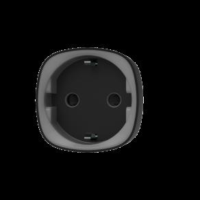 Умная розетка со счетчиком энергопотребления Ajax Socket Черная