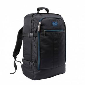 Рюкзак для ручной клади Cabin Max Metz Re.Source Black & Blue Zip (55х40х20 см)