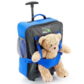 Детский чемодан для ручной клади Cabin Max Bear Blue