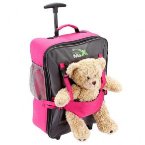 Детский чемодан для ручной клади Cabin Max Bear Pink