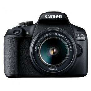 Фотоаппарат Canon EOS 2000D Kit 18-55 IS II Black