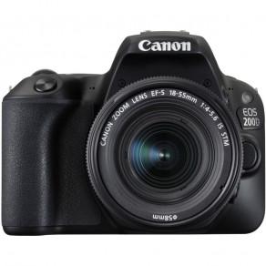 Фотоаппарат Canon EOS 200D Kit 18-55 STM