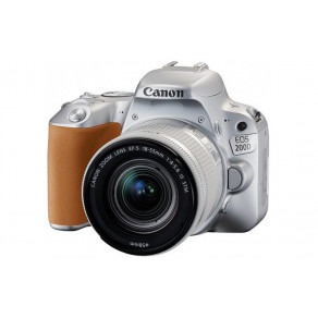 Фотоаппарат Canon EOS 200D Kit 18-55 STM Silver
