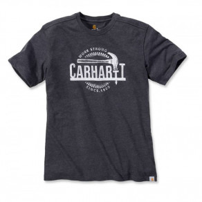 Футболка Carhartt Hammer Graphic T-Shirt 103202 (Carbon Heather)