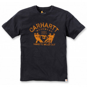 Футболка Carhartt Hard To Wear Out Graphic T-Shirt 102097 (Black)