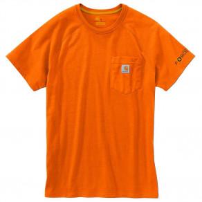 Футболка Carhartt Force Cotton T-Shirt 100410 (Orange)