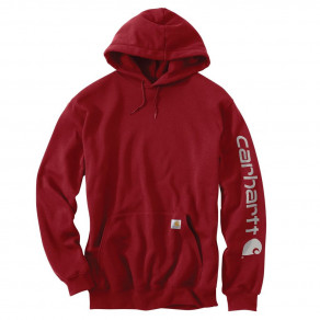 Худи Carhartt Sleeve Logo Hooded Sweatshirt (K288)