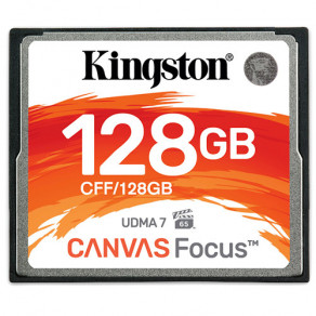 Карта памяти CF Kingston 128GB R150/W130MB/s