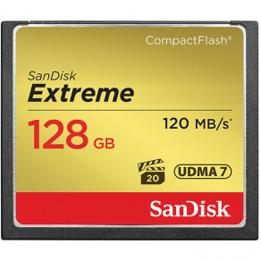 Карта памяти CF Sandisk Extreme 128GB (R120/W85)