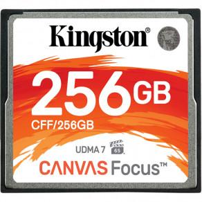 Карта памяти CF Kingston Canvas Focus 256GB (R150/W130)