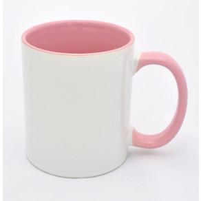 Чашка (цветная внутри+ободок) Pink