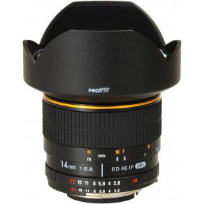 Объектив Samyang Nikon-F 14mm f/2.8 ED AS IF UMC AE (Full-Frame)