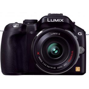 Фотоаппарат Panasonic DMC-G5X Kit 14-42 Black