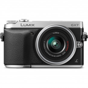 Фотоаппарат Panasonic DMC-GX7 Kit 14-42mm Silver